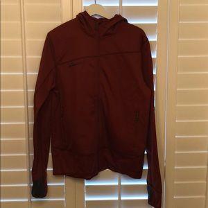 Large Copper Mammut Hooded Jacket